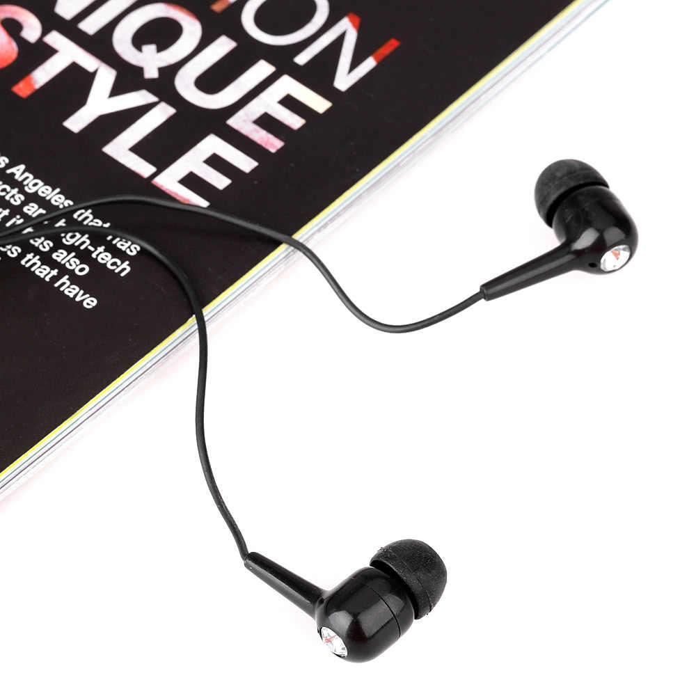 In-ear Pistone Bling Pietra Cuffia Auricolare Ascoltare Musica con Auricolari Bling Pietra per la Smartphone MP3 MP4