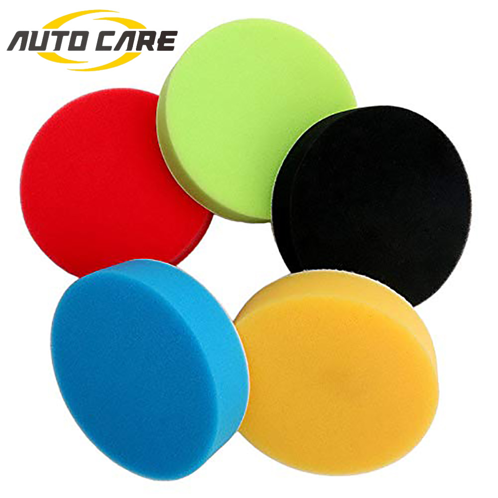 1pc Car Polishing Pad Hand Tool Kit Car Polisher Waxing Buffing Pads Wash Sponge Applicator Pads For Pulidorora Accessories
