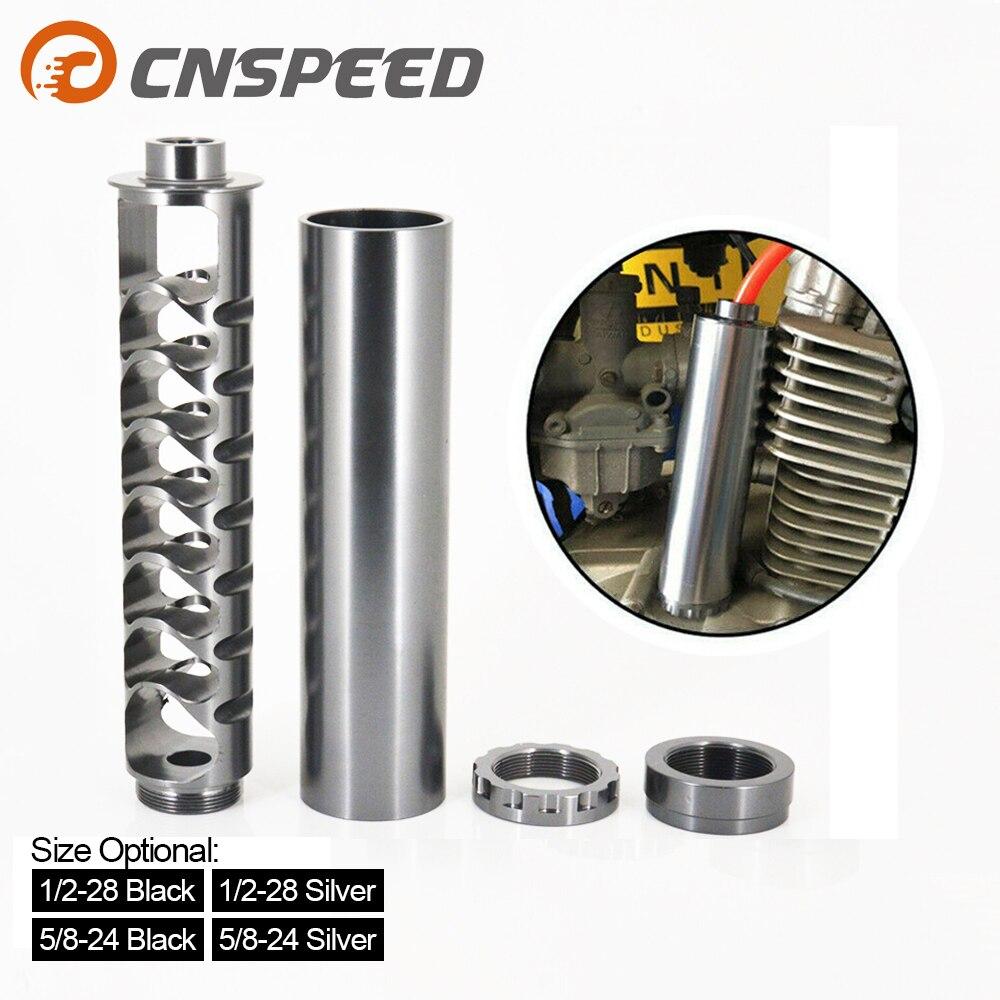 Spiral 1/2-28 5/8-24 napa 4003 wix 24003 용 단일 코어 연료 필터 자동차 용 솔벤트 실버