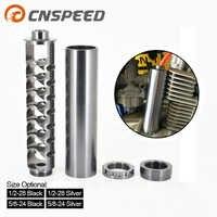 Spirale 1/2-28 5/8-24 Single-Core Kraftstoff Filter Für NaPa 4003 WIX 24003 Auto Lösungsmittel Silber Nur für Auto