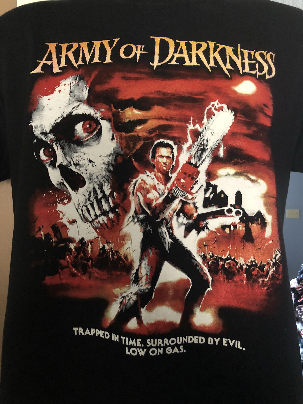 Army Of Darkness EXCLUSIVE T shirt evil dead ash comedy horror image