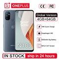 Смартфон глобальная версия Oneplus Nord N100, 4 Гб + 64 ГБ, 6,52 дюйма, 5000 мАч, Android 10,0, две SIM-карты, камера 13 МП, Qualcomm, Snapdragon 460