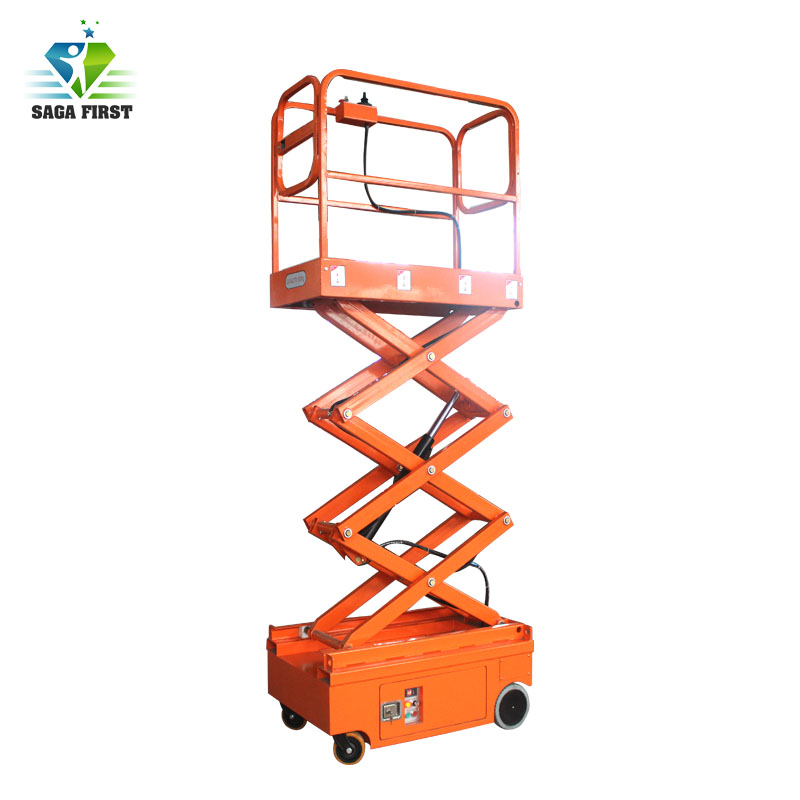 3m 4m Hydraulic Small Equipment Scissor Lift