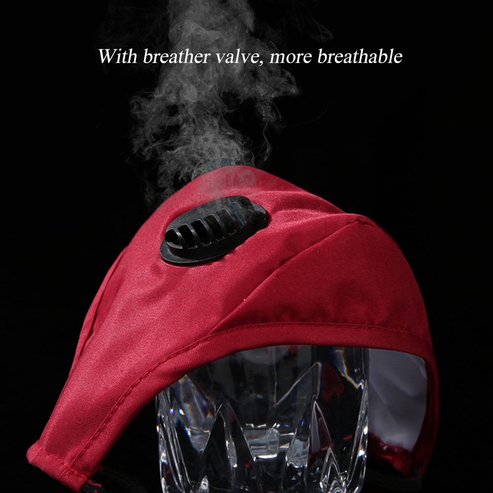 Cycling Face Mask With Filter PM2.5 Dust-proof Anti-Fog Respirator Anti-Pollution N100 Bike Out Mask For Out Activities New