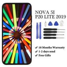 Для nova 5i/p20 lite 2019 ЖК дисплей кодирующий преобразователь