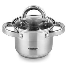 Milk-Pan Cooking-Pots Induction-Cooker Kitchen-Articles Stainless-Steel 12CM 1L Gas-F1001
