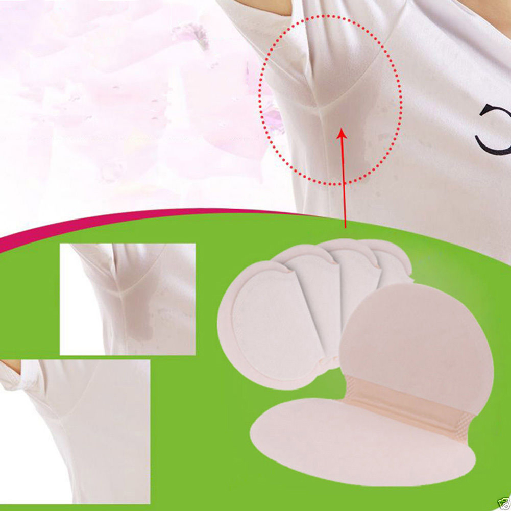 Armpits-Sweat-Pads Underarm-Gasket Disposable 50pcs for Linings