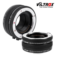 VILTROX DG-FU Auto focus AF Metal Macro Extension Tube Ring Lens Adapter Mount for Fujifilm X X-Pro2 X-T2/T1 X-T20/T10 X-E2S A10