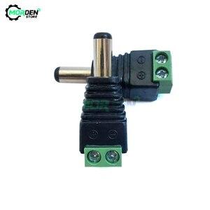 5 шт. 5,5x2,5 мм штекер постоянного тока разъем питания кабель разъем адаптер для 3528/5050/5730 Светодиодная лента CCTV камера