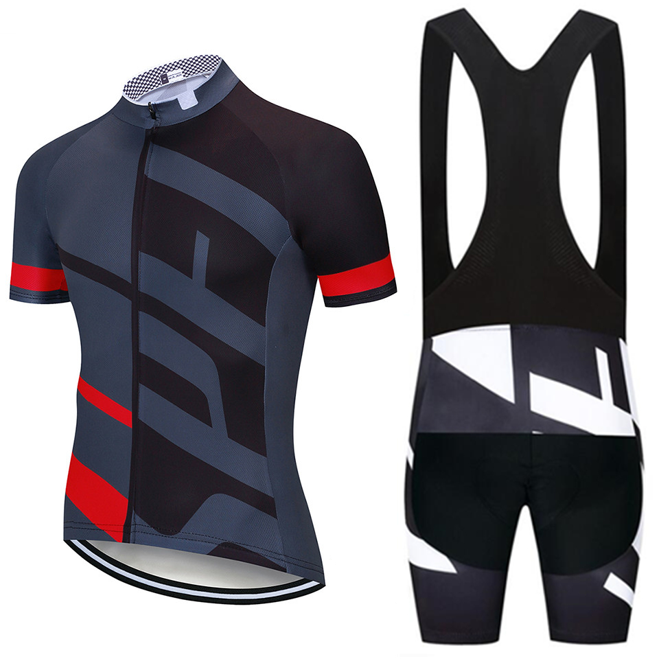 Pro Outdoor Mens Cycling Clothing Bike Short Sleeve Jersey Shorts Set Sportswear