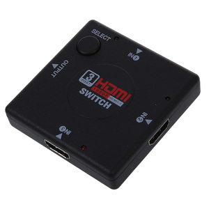 HDTV 1080P дисплей Видео DVD 3 порта HDMI переключатель сплиттер
