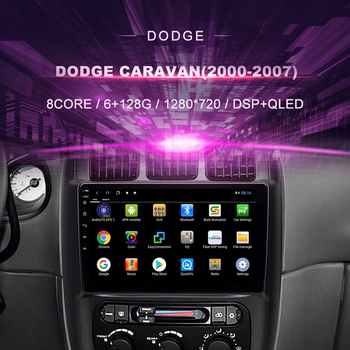 Car DVD for Dodge Caravan ( 2000-2007)Car Radio Multimedia Video Player Navigation GPS Android 10.0 double din