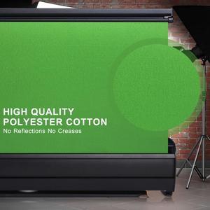 Image 3 - خلفية كروما قابلة للطي مقاس 110 × 200 سنتيمتر ، خلفية خضراء مقاومة للتجاعيد للتصوير الفوتوغرافي والفيديو ويوتيوب