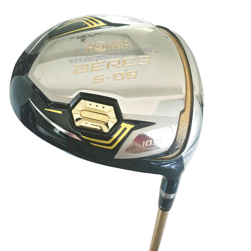 Cooyute New mens Golf driver HONMA S 06 3 star driver clubs 9.5 or 10.5 loft Golf Clubs driver Graphite Golf shaft Free shipping-in Golf Clubs from Sports & Entertainment