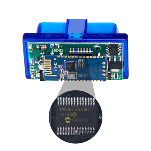 Image 5 - Super MINI ELM327 Bluetooth V1.5 ELM 327 Version 1.5 avec PIC18F25K80 puce OBD2 OBDII pour Android couple Scanner de Code automobile