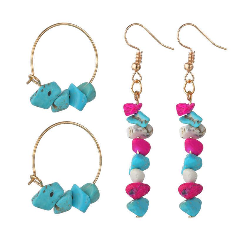 Simple Heart Round Imitation Pearls Handmade Drop Earrings For Women Gold Heart Beaded Tassel Brincos Earrings Jewelry Christmas