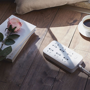 Image 5 - Xiaomi Mijia no usb Power Strip 3 6 8 Ports Plug Socket Power on/off 2500W 10A 250v overload protection for office home mihome
