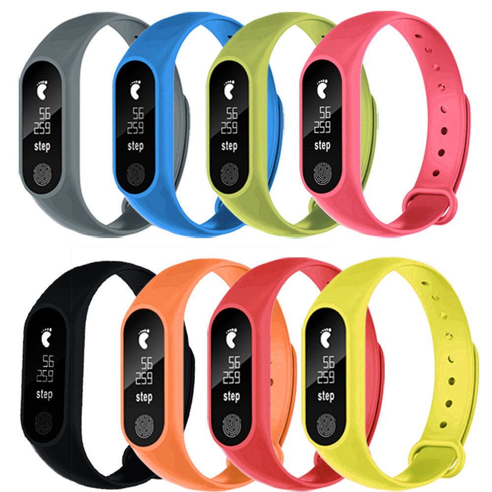 SmartWatch Multi-color Durable For Amazfit Bip M2 Sports Pedometer Smart Bracelet Heart Rate Bluetooth V4.0 For Fitbit Watches