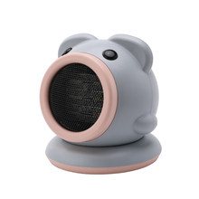 Desktop Pig Automatic Swing Head Heater Electric Fan Mini Portable Household Small Heater(China)