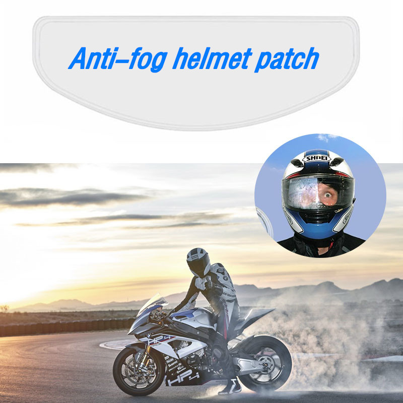 Clear Pinlock Anti-fog Patch Motorcycle Full Face Helmet Generic For K3 K4 AX8 LS2 HJC Marushin Helmets Lens Anti-fog Visor