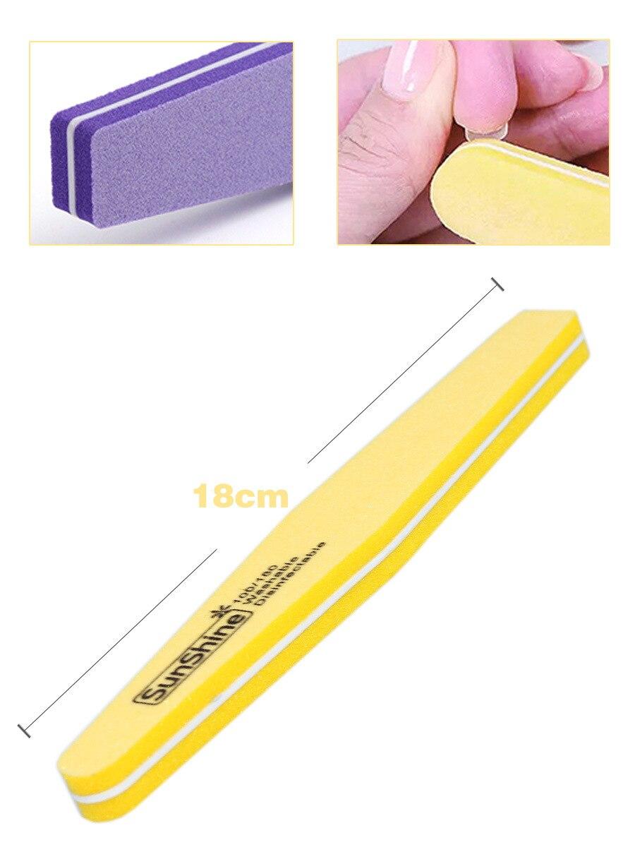 Уход за ногтями для ухода за ногтями отшелушивающий скраб набор инструментов профессиональный маникюрный набор