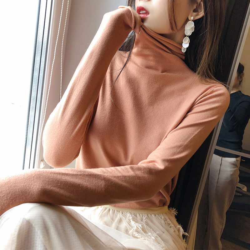 Mishow Fashion Warm Jumper Women Knitted Sweaters Female Casual Long Sleeve Tops Solid Autumn Winter MX18D5534