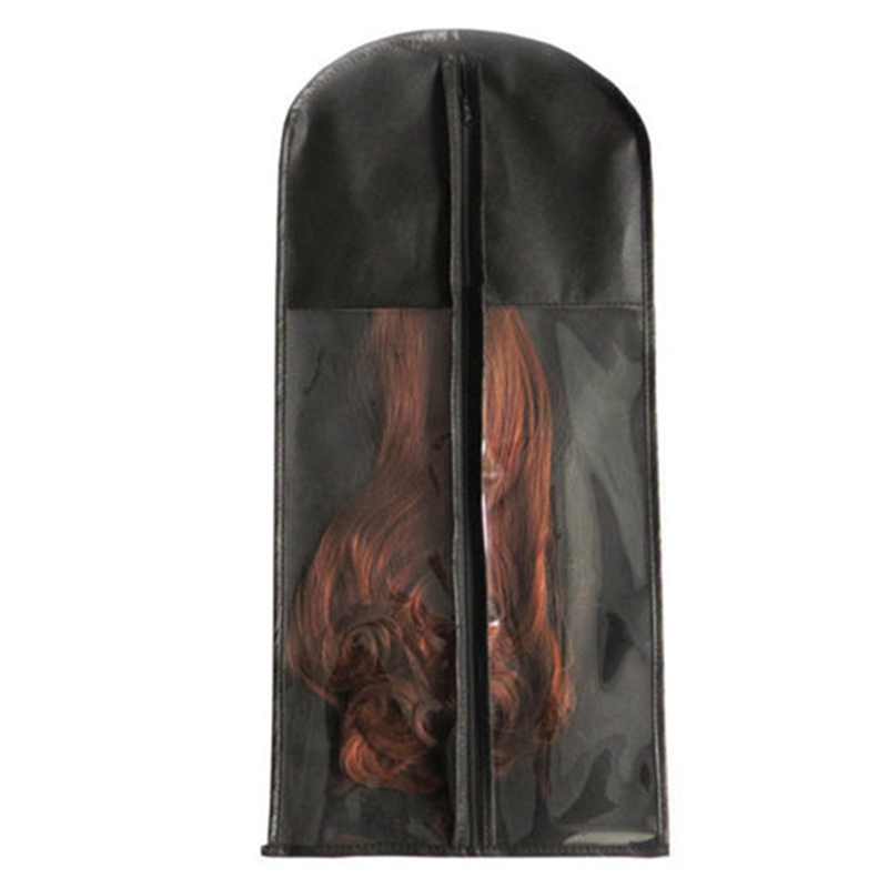 Durable Dust-proof Zipper Portable Suit Case Bag Hair Wig Extension Carrier Hair Beauty Bag  Dust Cover For Dry Cleaner 1PC