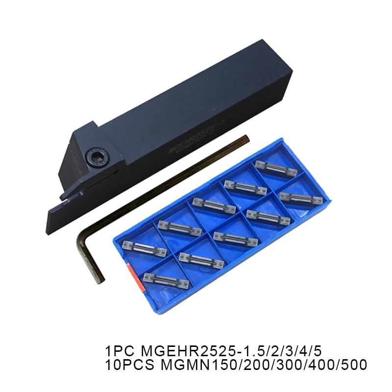 MGEHR2525 1.5 MGEHR2525 2 MGEHR2525 3 MGEHR2525 4 holder MGMN150 MGMN200 MGMN300 Insert CNC Lathe for Turning Tool