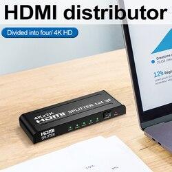 Die HDMI splitter ist 4 cent eine 4K * 2K hd video co-bildschirm hdMI 1 cent 4 cent