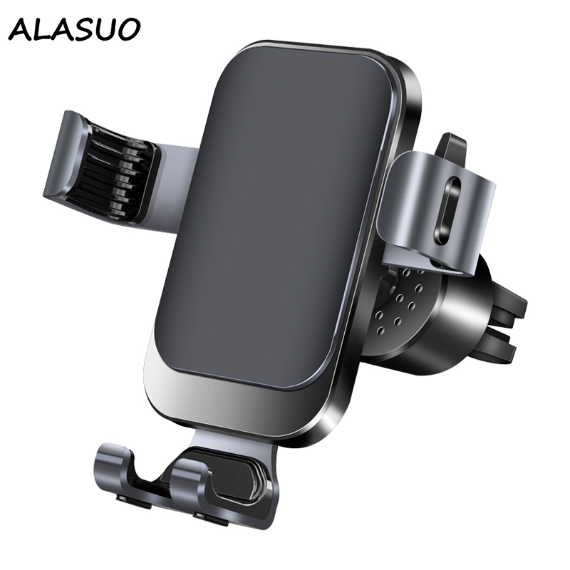 Universal Car Phone Holder in air vent car mount for iphone X XR XS XS MAX Samsung Xiaomi Gravity Car Holder
