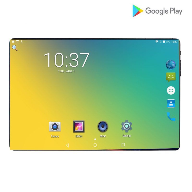 Hot Google 10.1 Kids Tablet Screen Mutlti Touch Android 9.0 Octa Core Ram 6GB ROM 64GB Camera 8MP Wifi 10.1 Inch Tablet Pc