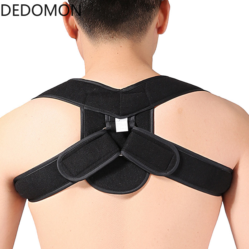 Back Adujustable Posture Corrector Belt Back Brace Support Kids Men Women Humpback Correction Spine Shoulder Brace Bandage Strap