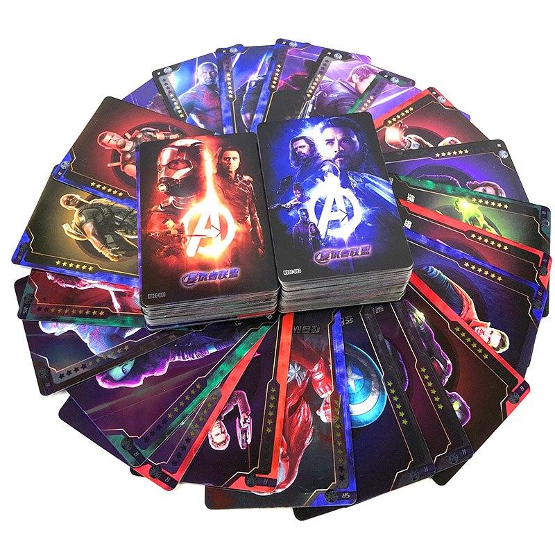 240 pcs Avengers Ultimate Battle SSR Card SR Rare Card Full Star 10 Star Flash Card Collection Card 2