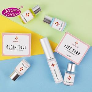 Image 4 - 10 sets/lot Professional Mini Eyelash Perming Kit Lashes Lift Cilia Tools Perming Sets Rods Y Brushes Beauty Makeup Tools