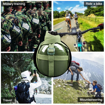 87-style Military Kettle Bottle Aluminum Convenient Large Capacity Water Bottle Canteen Kettle for Outdoor Camping Travel #W0 4