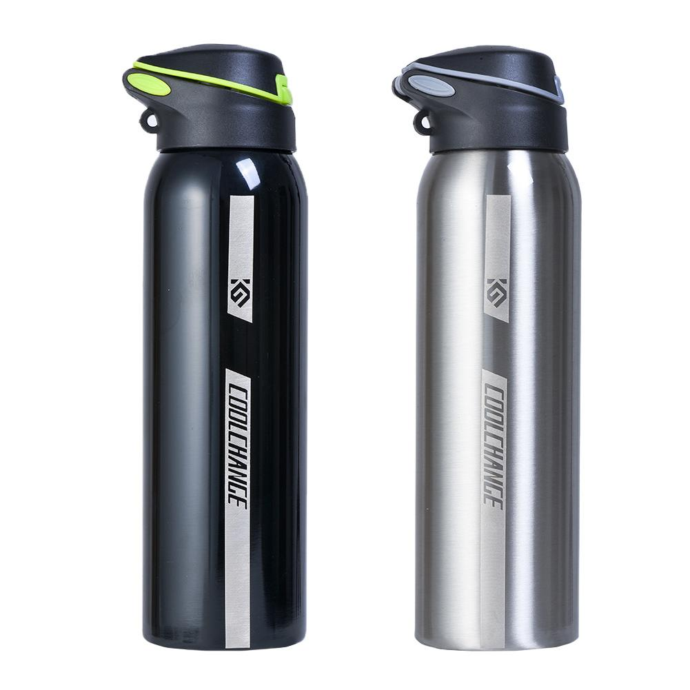 500ml Mountain Bike Riding Bicycle Water Bottles Double Stainless Steel Thermos