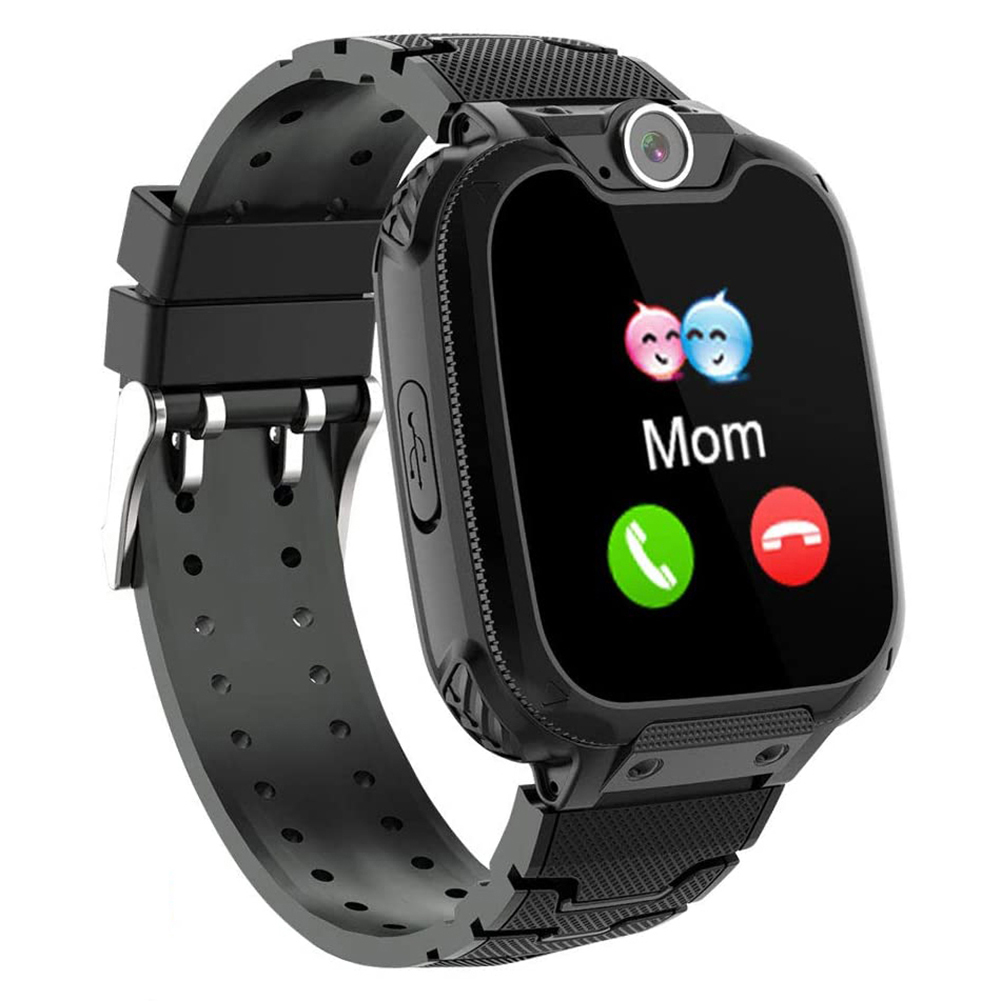 Kids Smart Watch Phone Smartwatches Music Player Math Games Call Camera Alarm Recorder Calculator for Birthday Gift Toys