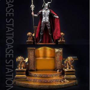 In stock 1/6 scale SS018 Odin Throne Chair Resin Model Base Accessory Toys Box For 12