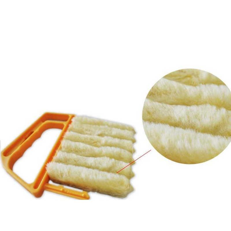 Hữu Ích Vi Sợi Chổi Vệ Sinh Cửa Điều Hòa Không Khí Bụi Bụi Có Thể Giặt Kim Tinh Mù Vệ Sinh Lưỡi Vải