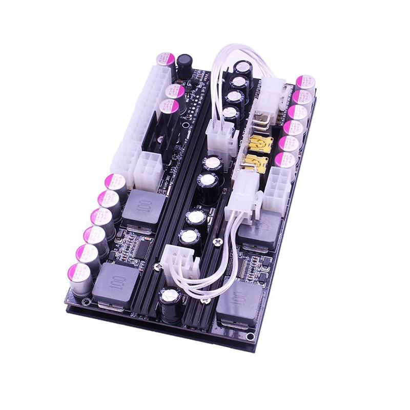 16 ~ 24V ATX 500W large tension Pico PSU double entrée haute puissance DC-ATX numérique alimentation pour serveur d'ordinateur