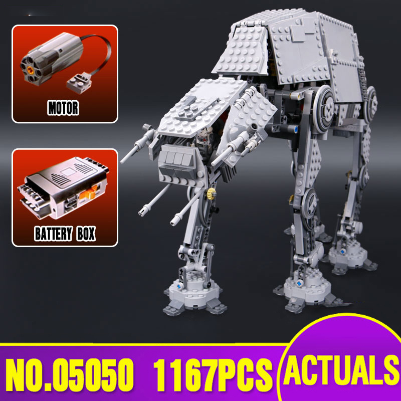 05050 Star Toys Wars Compatible With Legoing 10178 Motorized Walking AT-AT Set Toys Model Kids Christmas Gifts Building Blocks