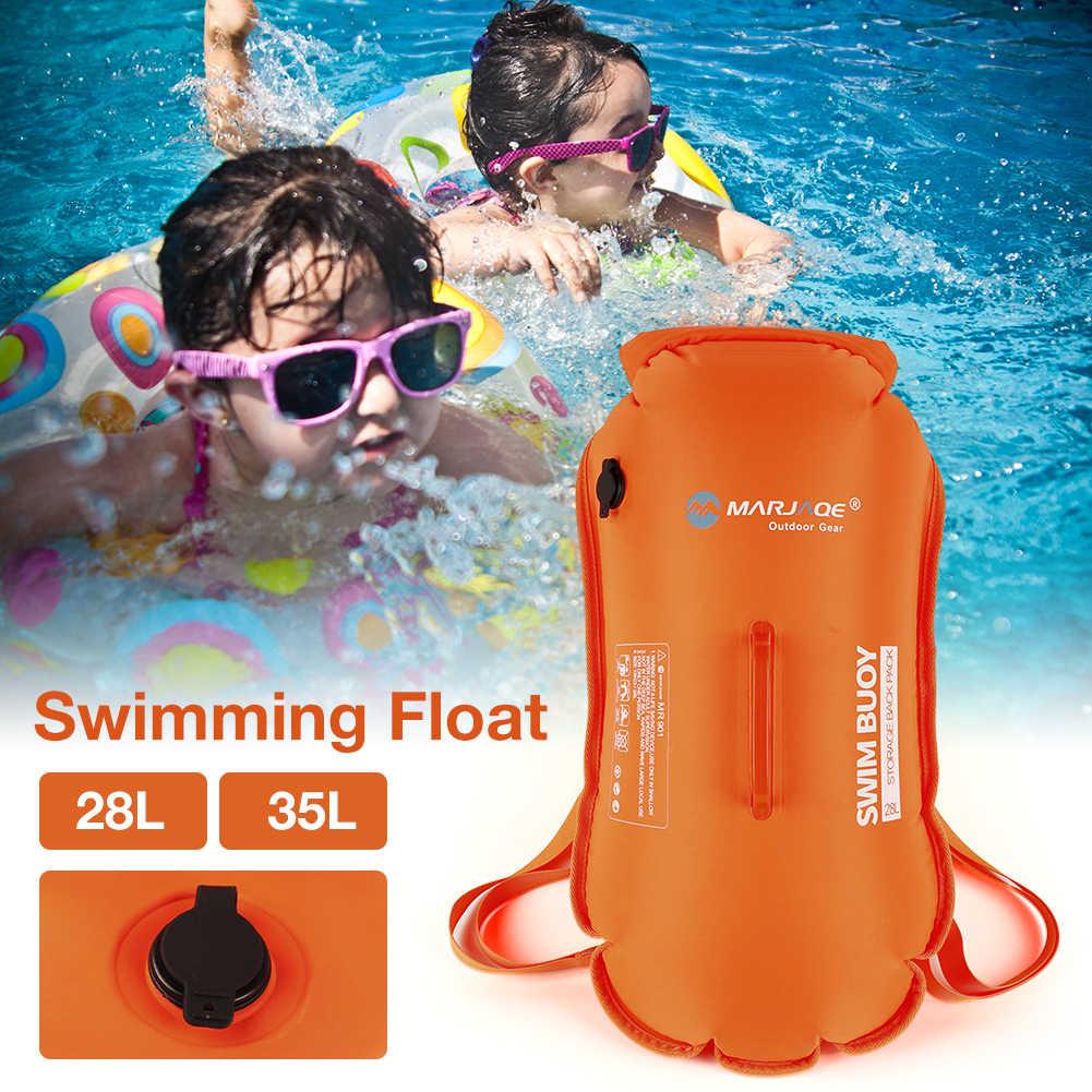 VORCOOL Swim Safety Float Swim Buoy Waterproof Dry Rafting Bag for Kayaking