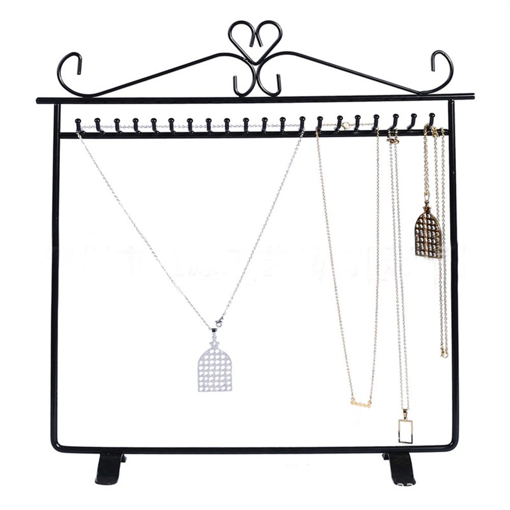 NEW 20 Hooks Jewelry Stand Rack Display Storage Hanging Holder Earring Necklaces Organizer Jewelry Stand Bracelet Chain Pendants