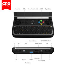 Gpd Menang 2 WIN2 8GB + 256GB 6 Inch Handheld Game PC Laptop Notebook Intel Core M3-8100Y Windows 10 Sistem Saku Mini PC Laptop(China)