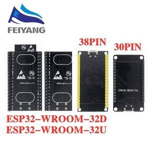 ESP-32S ESP-WROOM-32 ESP32 ESP-32 Bluetooth и WIFI двухъядерный процессор с низким энергопотреблением MCU ESP-32