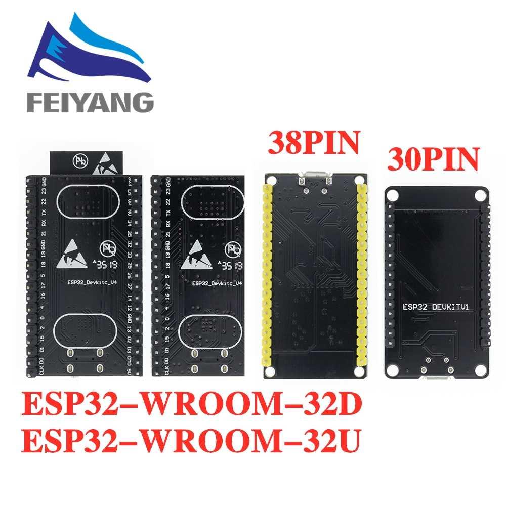 ESP-32S ESP-WROOM-32 ESP32 ESP-32 Bluetooth und WIFI Dual Core CPU mit Niedrigen Power Verbrauch MCU ESP-32