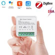 Tuya Smart ZigBee Switch Module Home Automation DIY Breaker Supports 2 Way Control Work with Alexa Google Home