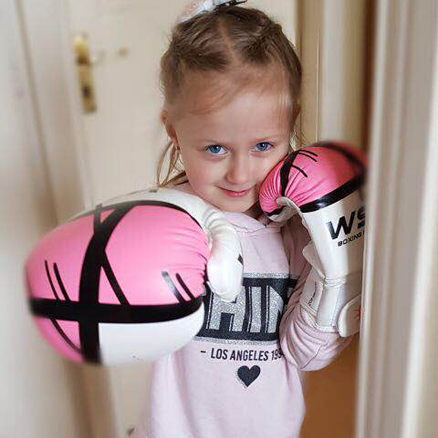 REXCHI Kick Boxing Gloves for Men Women PU Karate Muay Thai Guantes De Boxeo Free Fight MMA Sanda Training Adults Kids Equipment 3