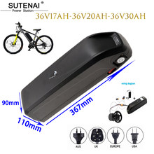 Electric bicycle battery 18650 battery pack Hailong 52V 17ah 48V 36V 12Ah 17ah 20Ah 30ah powerful bicycle lithium battery