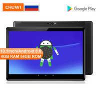 CHUWI Original Hi9 Air 10.1 pouces tablette MT6797 X23 Deca Core 4GB RAM 64GB ROM 2K écran double 4G Android 8.0 tablette 8000MAH